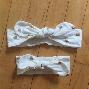 Other - Mom and Baby Tie Headband Set